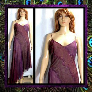 Purple Evening Dress by BCBG Max Azria #059